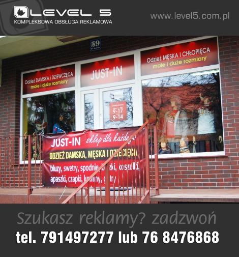 Obsługa reklamowa, branding, identyfikacja, oznakowanie lokali