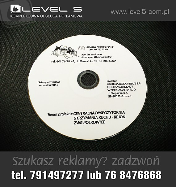Nadruk na płytach CD / DVD
