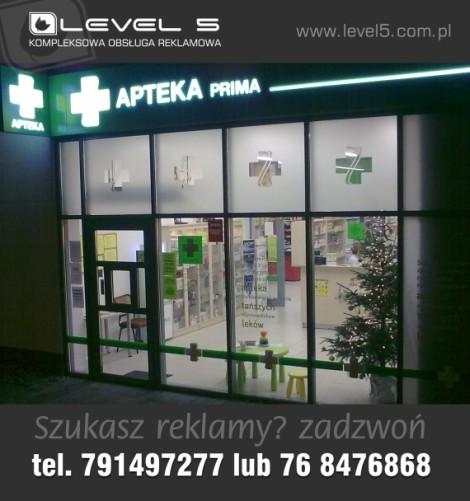 Znakowanie, branding lokali, placówek, salonów i firm