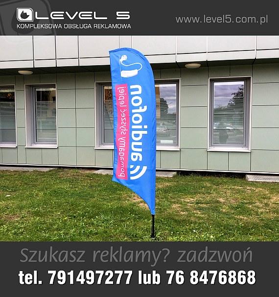 Flagi firmowe, reklamowe, windery