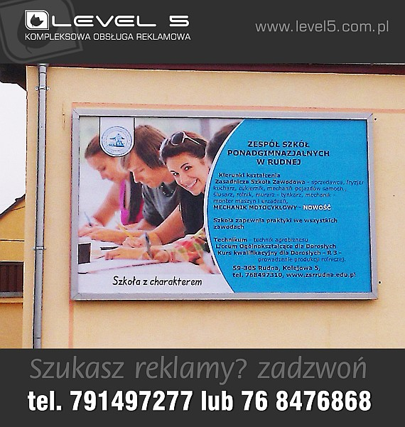 Projektowanie, drukowanie billboardów